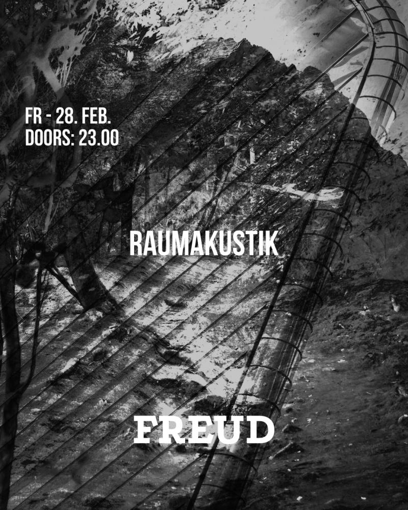 Raumakustik & Chris Wood:// at FREUD